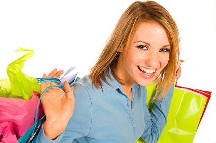 Photo of a Happy Shopper