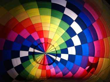 air airship balloon bright